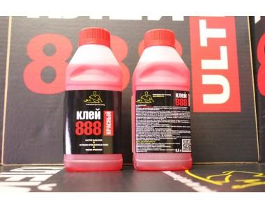 Клей 888ULTRA Красный 0.5л в пластиковой фляге