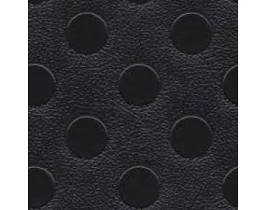 Автолинолеум Автолин Люкс с пятачками ЧЕРНЫЙ, ширина рулона 1,5м